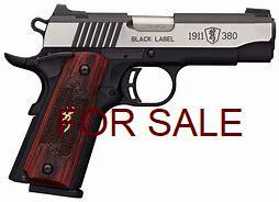 browning 1911 black label 380